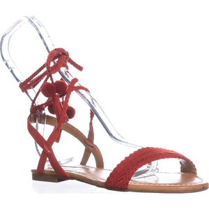 INC International Concepts Womens Ganice2 Fabric Open Toe Casual Ankle Strap