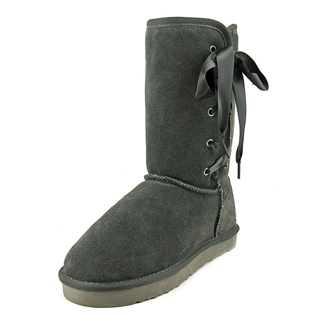 Style & Co Aliciah Women US 8 Black Winter Boot