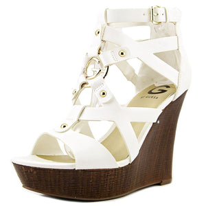 G by GUESS Womens Dodge Open Toe Casual Platform Sandals