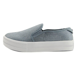 G by GUESS Womens Cherita Fabric Low Top Slip On Fashion Sneakers