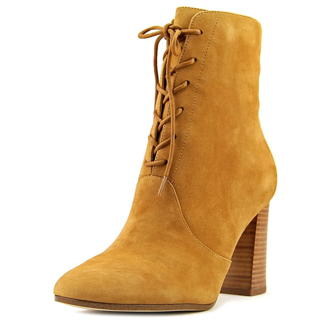 Marc Fisher Womens EDNIA Suede Closed Toe Ankle Fashion Boots 8.0
