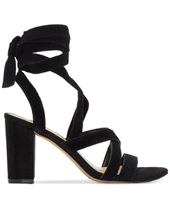 INC International Concepts Kailey Lace-Up Block-Heel Sandals