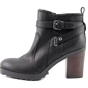 G by Guess Womens Francy Closed Toe Ankle Fashion Boots 8.5