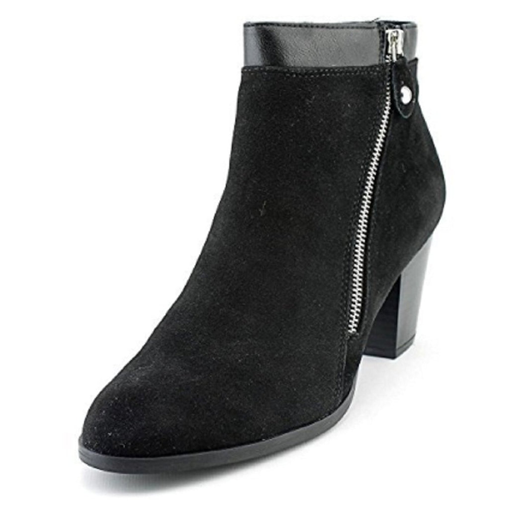 STYLE & CO-MMG Side Zip Bootie Basic