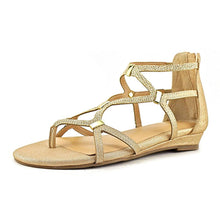 Thalia Sodi Womens pamella Split Toe Casual Strappy Sandals