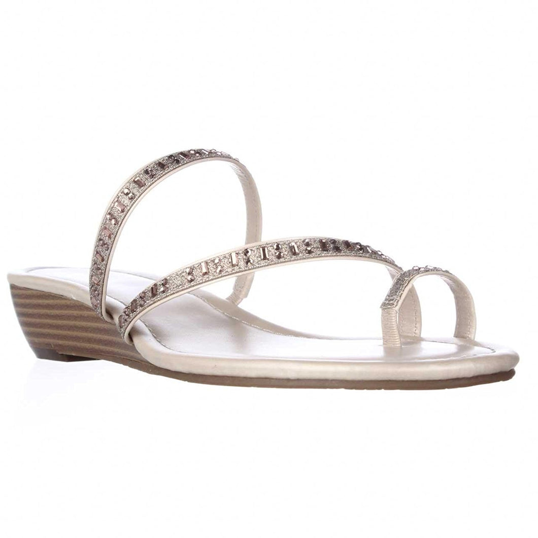 Style & Co. Womens Hayleigh Open Toe Casual Slide Sandals, Beach Sand, Size 7.5