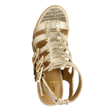 White Mountain Women's gemmy Gladiator Sandal