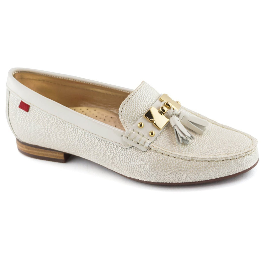 Women's Genuine Leather Made in Brazil Wall Street Tassel Loafer Marc Joseph NY Fashion Shoes
