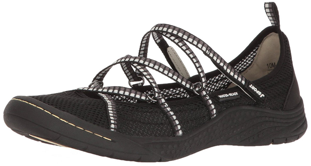 JSport by Jambu Women's Sideline Encore Flat