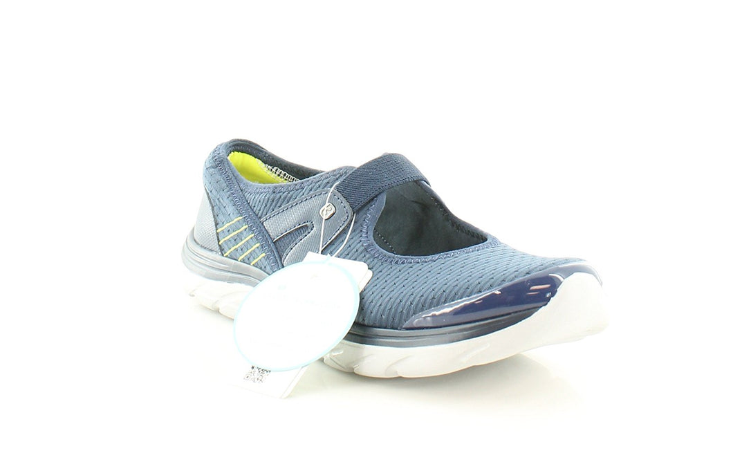 BZees Womens Brisk Low Top Slip On Walking Shoes