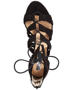 INC International Concepts Womens Witley Fabric Open Toe Casual Strappy Sandals