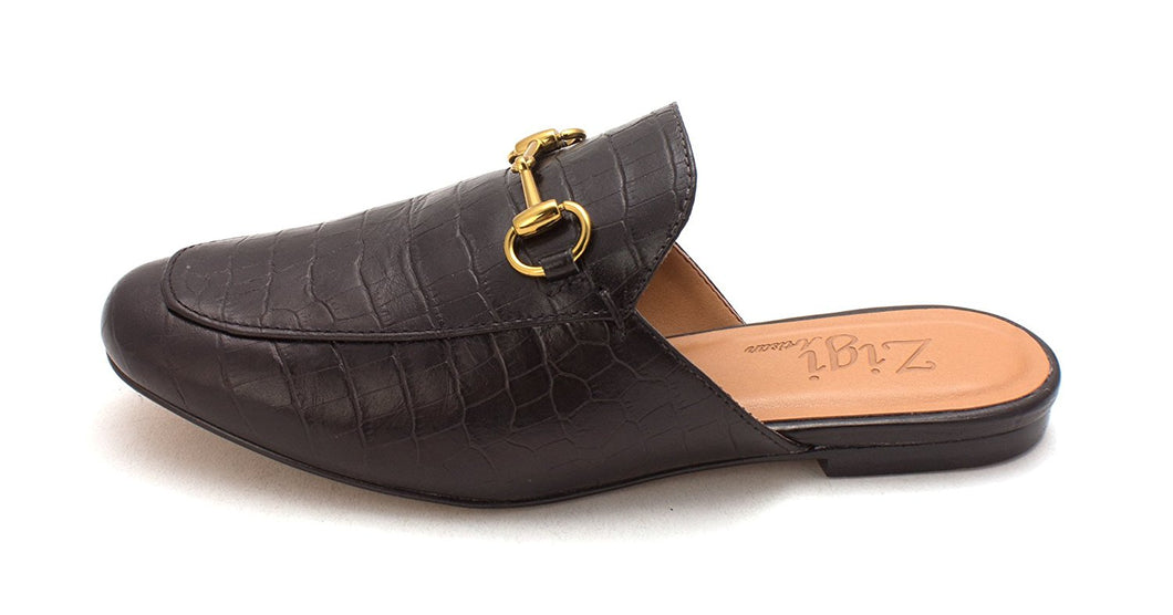 ZIGI SOHO Womens Mallary Leather Closed Toe Mules