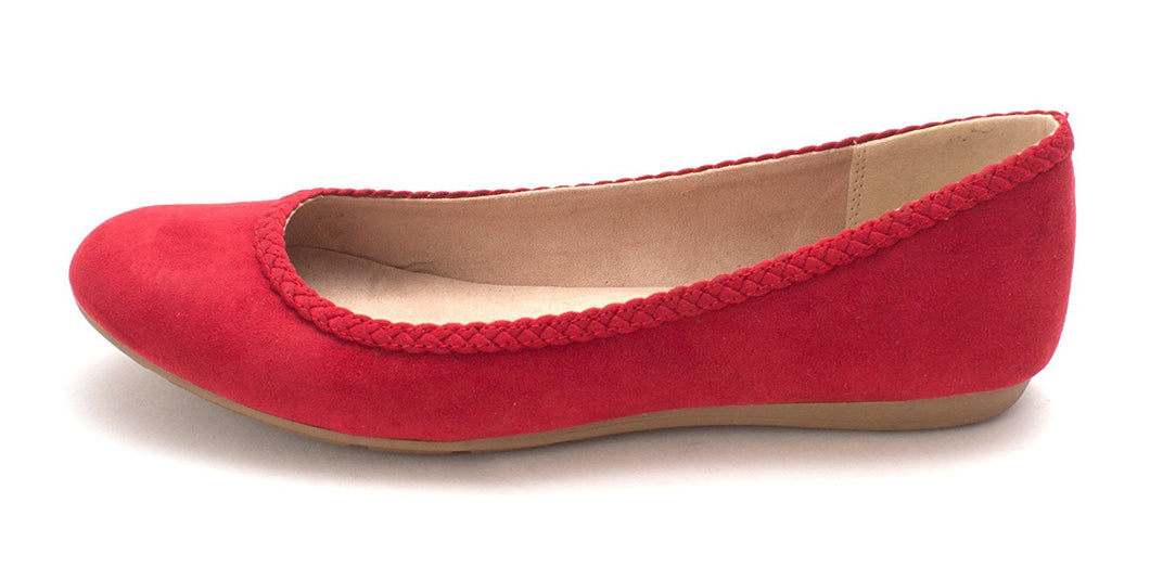 Style & Co. Womens Ciara Almond Toe Ballet Flats