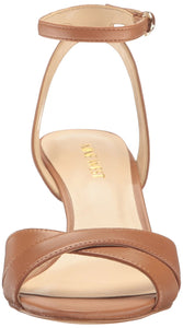 Nine West Women's Kami Leather Wedge Sandal