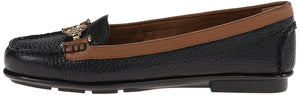 Aerosoles Women's Nuwlywed Slip-on Stylish Fashion Loafer Shoes Black 5 M