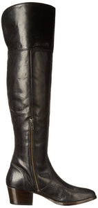 FRYE Women's Clara OTK Leather Slouch Boot