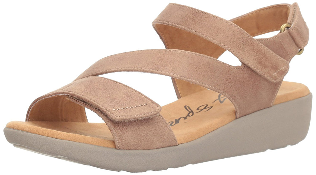 Easy Spirit Women's Kailynne2 Fashionable Stylish Wedge Sandal 6 M