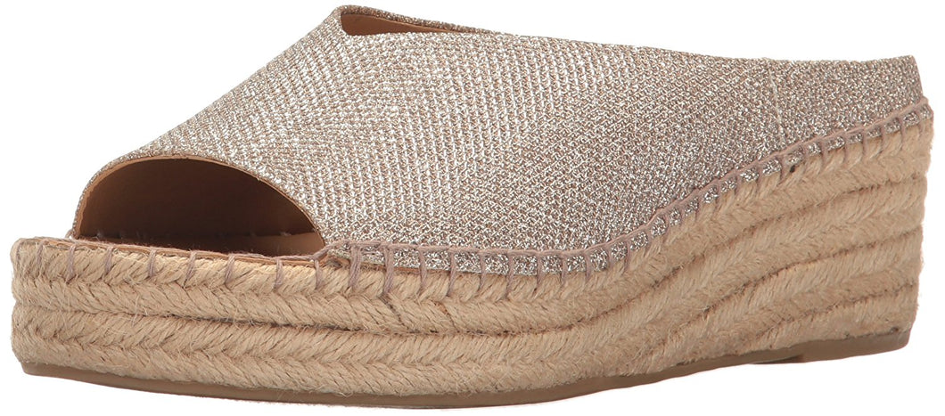 Franco Sarto Women's Pine Espadrille Fashionable Stylish Wedge Sandal 10 M