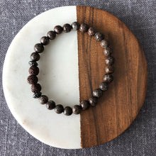 Diffuser Bracelet with Coffee Jasper and Lava Rock