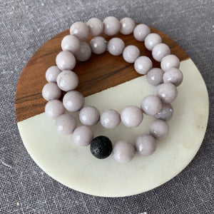 Purple Jade Bracelet {diffuser option available}