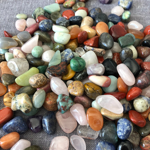 Assorted Loose Gemstones Healing Crystals