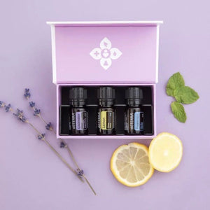 doTERRA Introductory Essential Oil Kit Peppermint Lavender Lemon