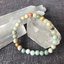 Diffuser Bracelet with Amazonite and Lava Rock