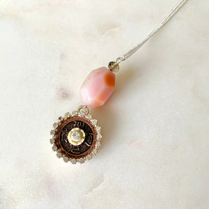 Pretty Charm Agate Necklace