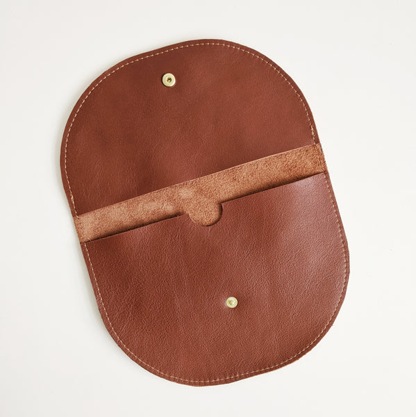 Half Moon Belt Bag, Chestnut