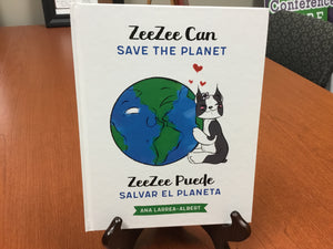 Book: ZeeZee Can Save the Planet | ZeeZee Puede Salvar el Planeta