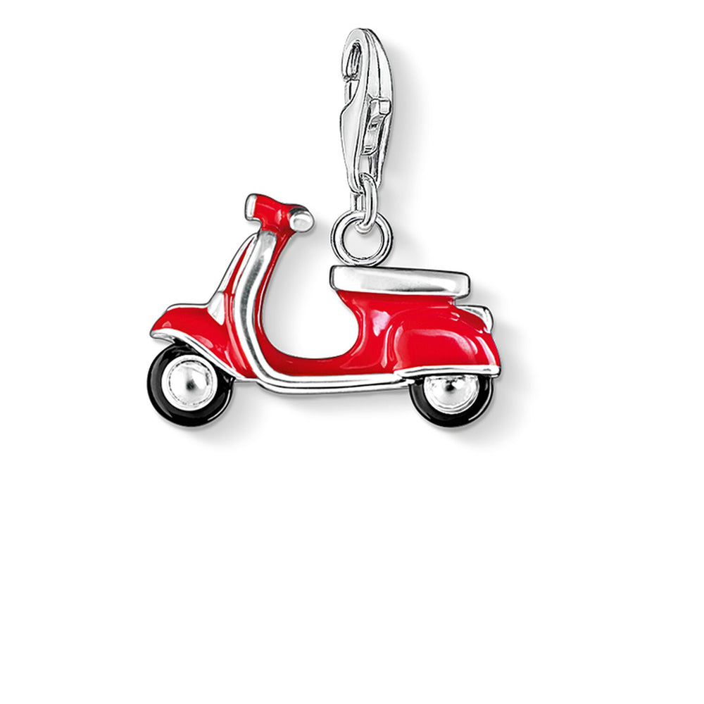 "Charm Pendant ""Red Scooter"""