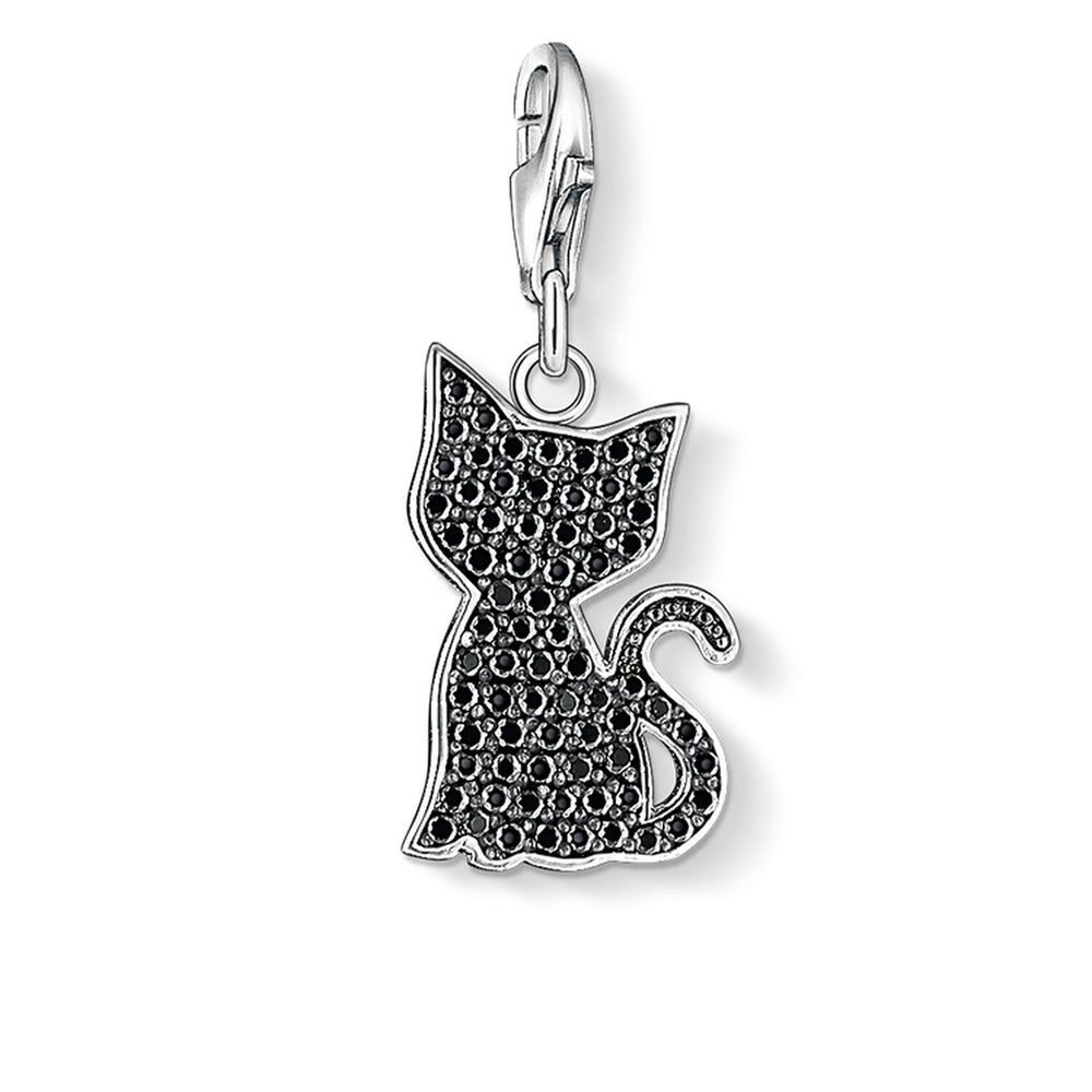"Charm Pendant ""Black Cat"""