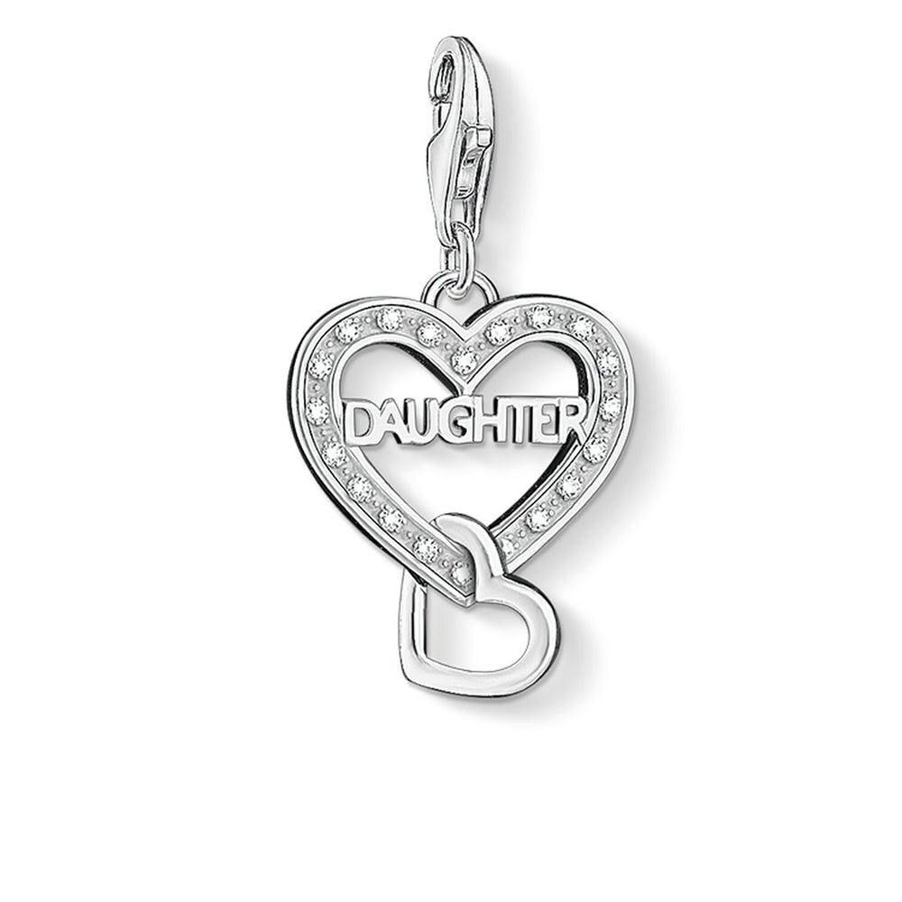 "Charm Pendant ""DAUGHTER"""