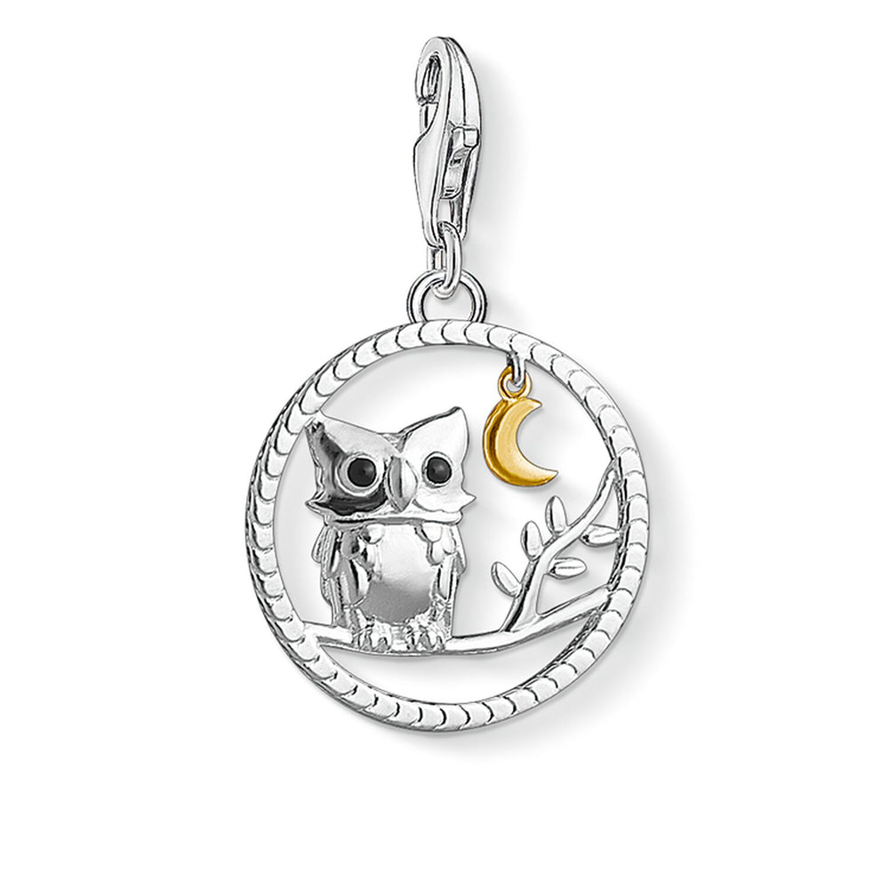 "Charm Pendant ""Night Owl"""