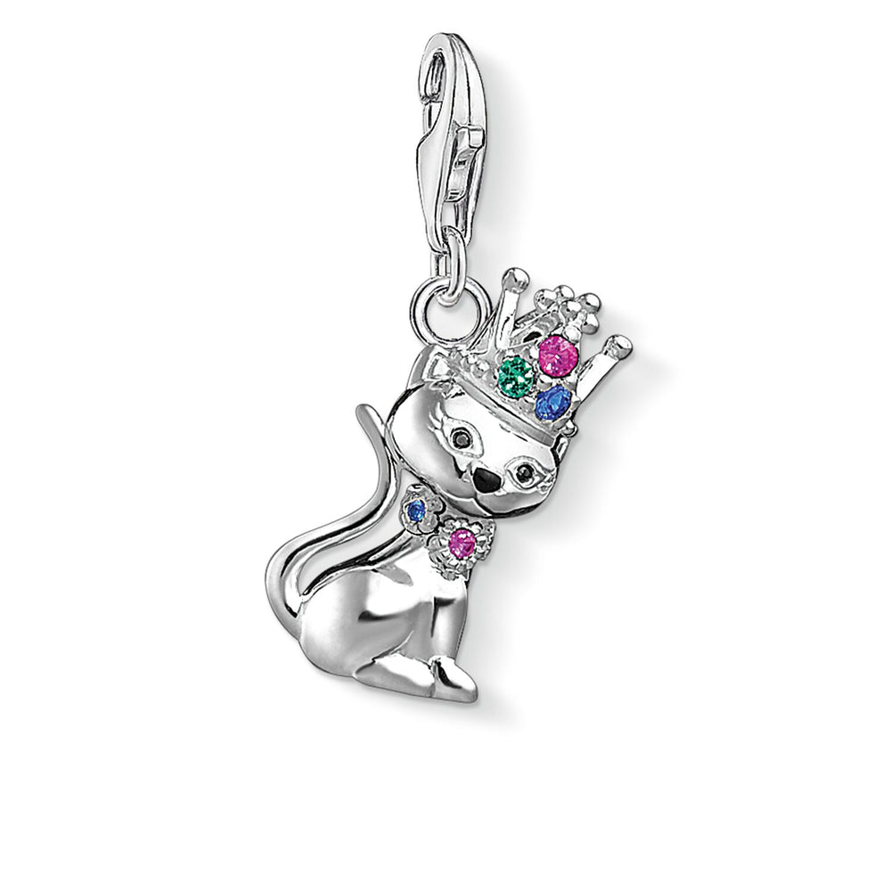 "Charm Pendant ""Cat With Crown"""