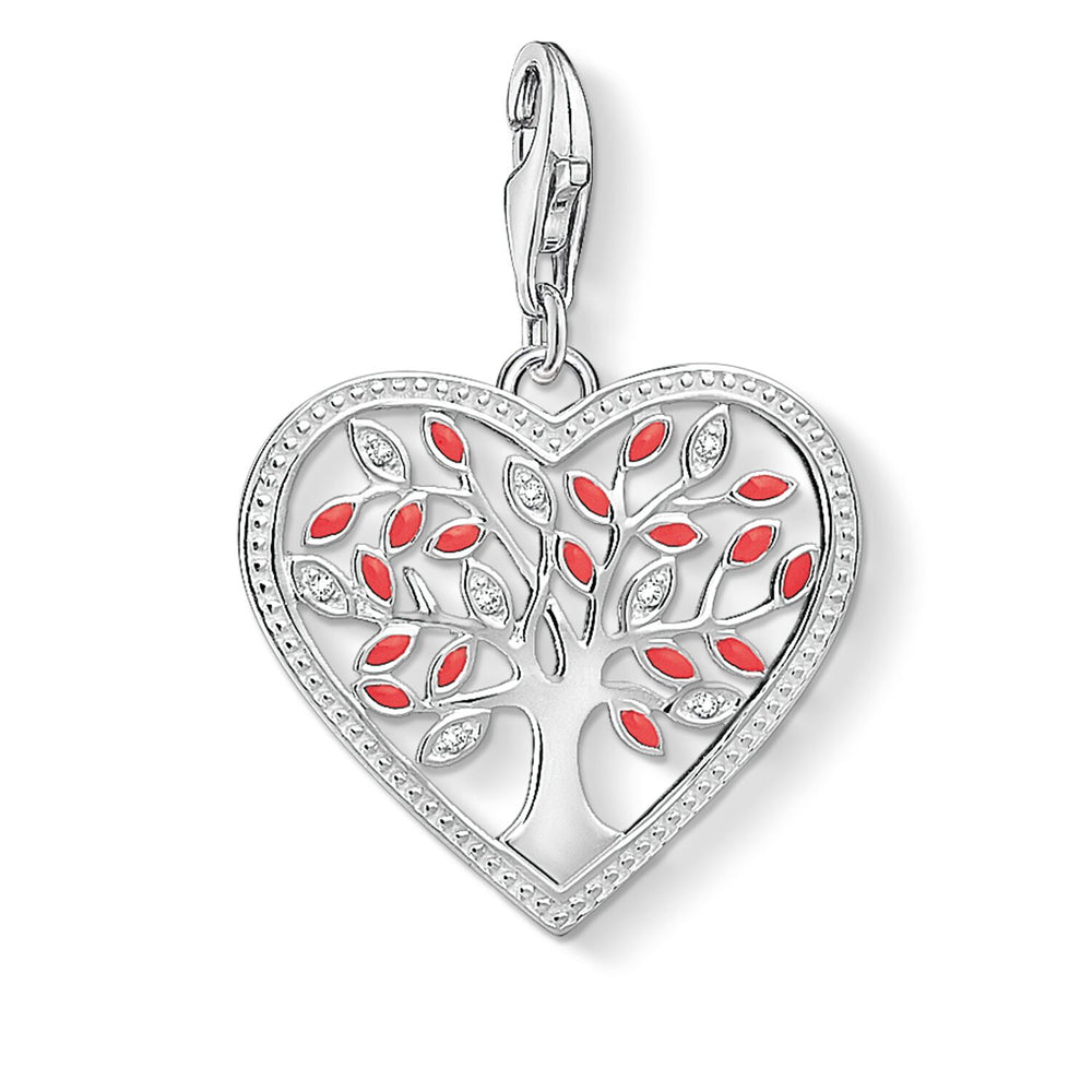 "Charm Pendant ""Heart Tree Of Love"""