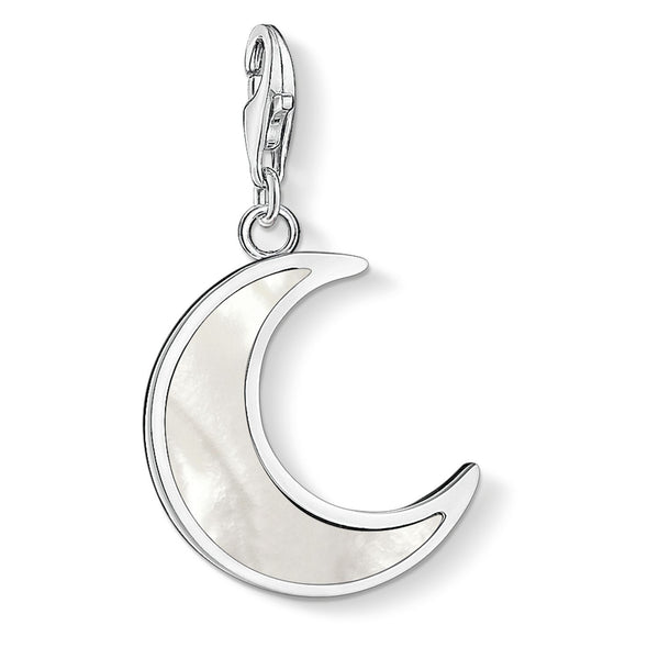 "Charm Pendant ""Moon Mother-of-pearl"" - THOMAS SABO Malaysia"