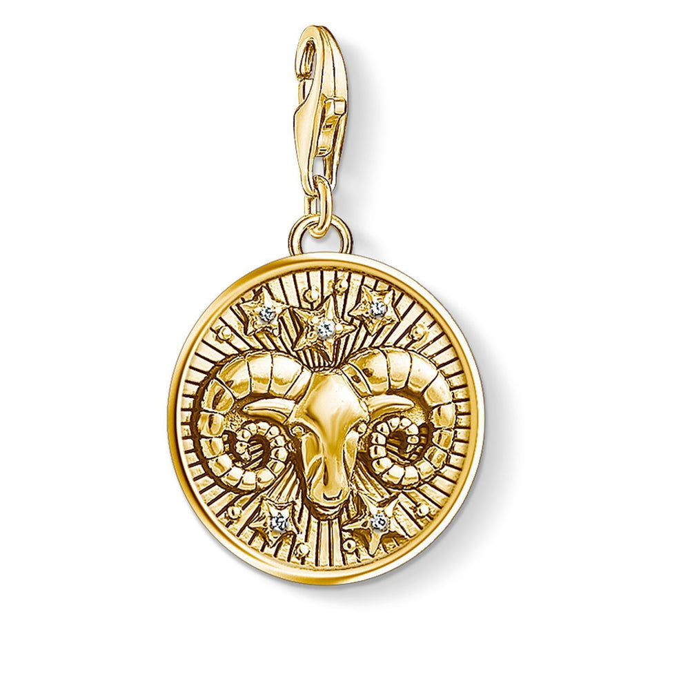 "Charm Pendant ""Zodiac Sign Aries"""