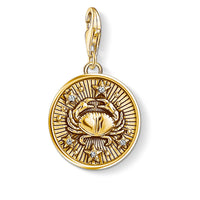 "Charm Pendant ""Zodiac Sign Cancer"""