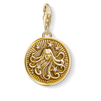 "Charm Pendant ""Zodiac Sign Virgo"""