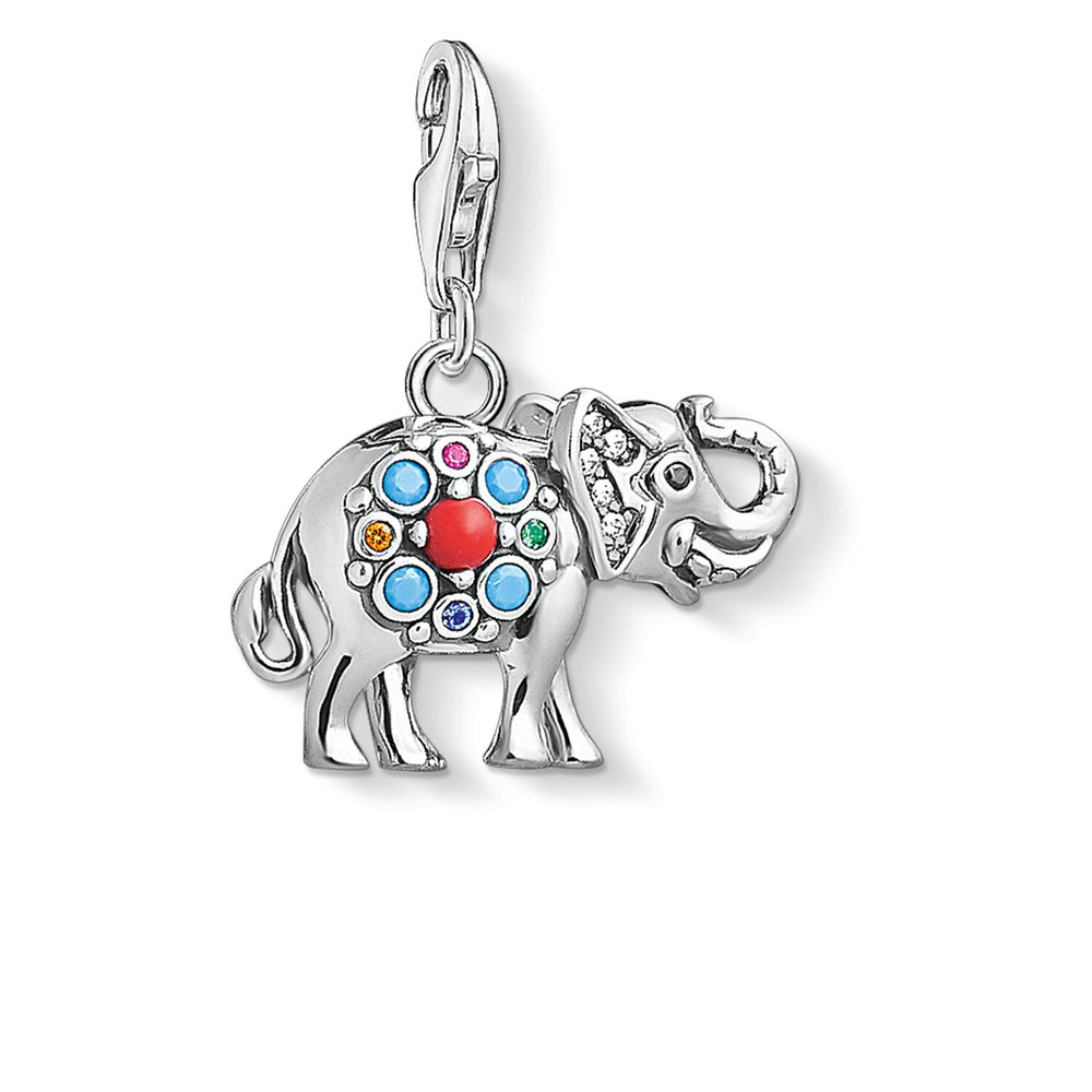"Charm Pendant ""Indian Elephant"""