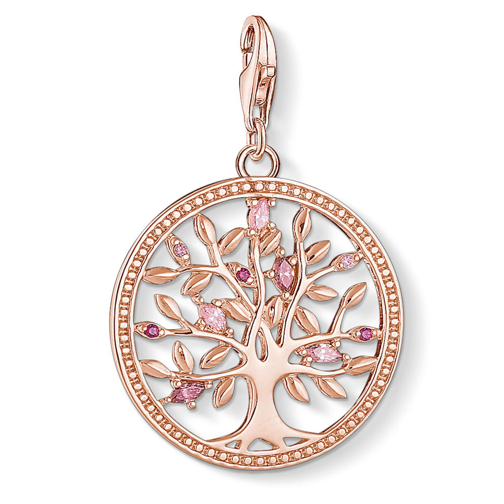 "Charm Pendant ""Tree of Love pink"""
