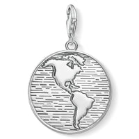 "Charm Pendant ""disc world"""