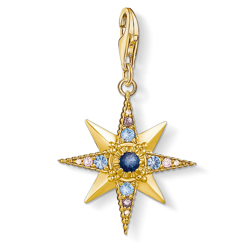 "Charm Pendant ""Royalty Star"""