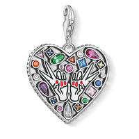 "Charm Pendant ""Love & Peace"""