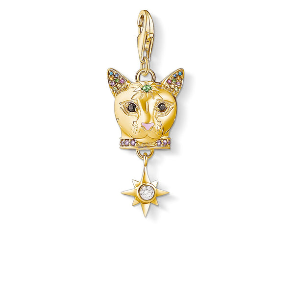 Charm Pendant Cat Gold