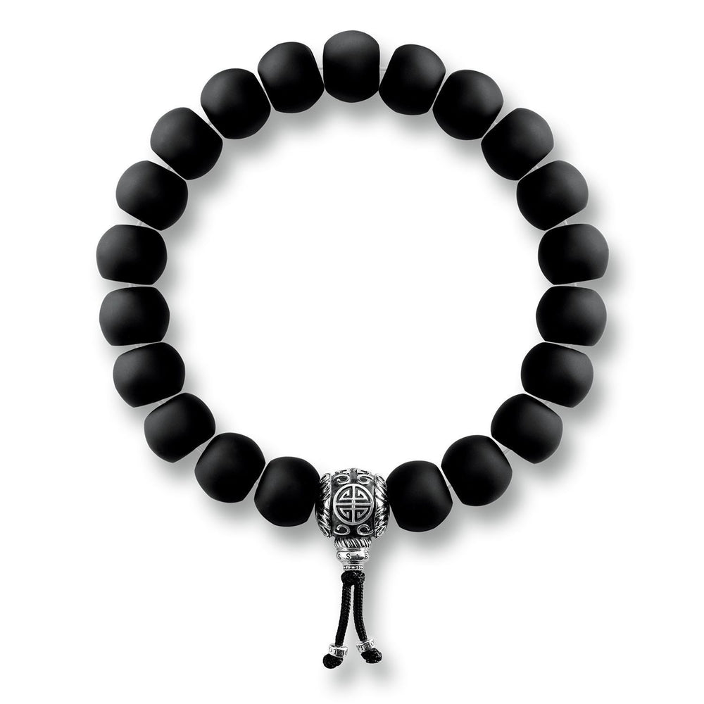 "Bracelet ""Ethnic Power Bracelet Black"" - THOMAS SABO Malaysia"