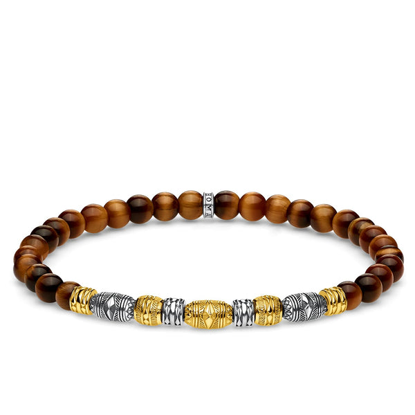 Bracelet Two-tone Lucky Charm, Gold