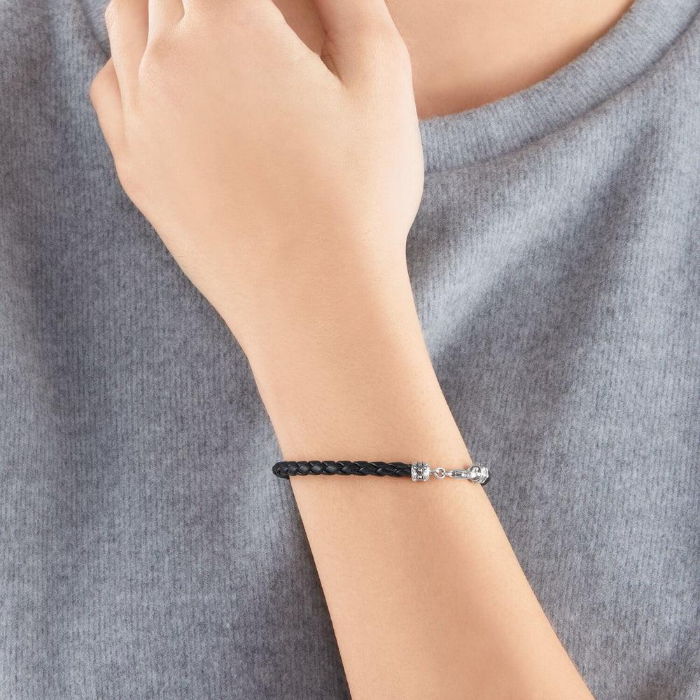 Leather Bracelet Black