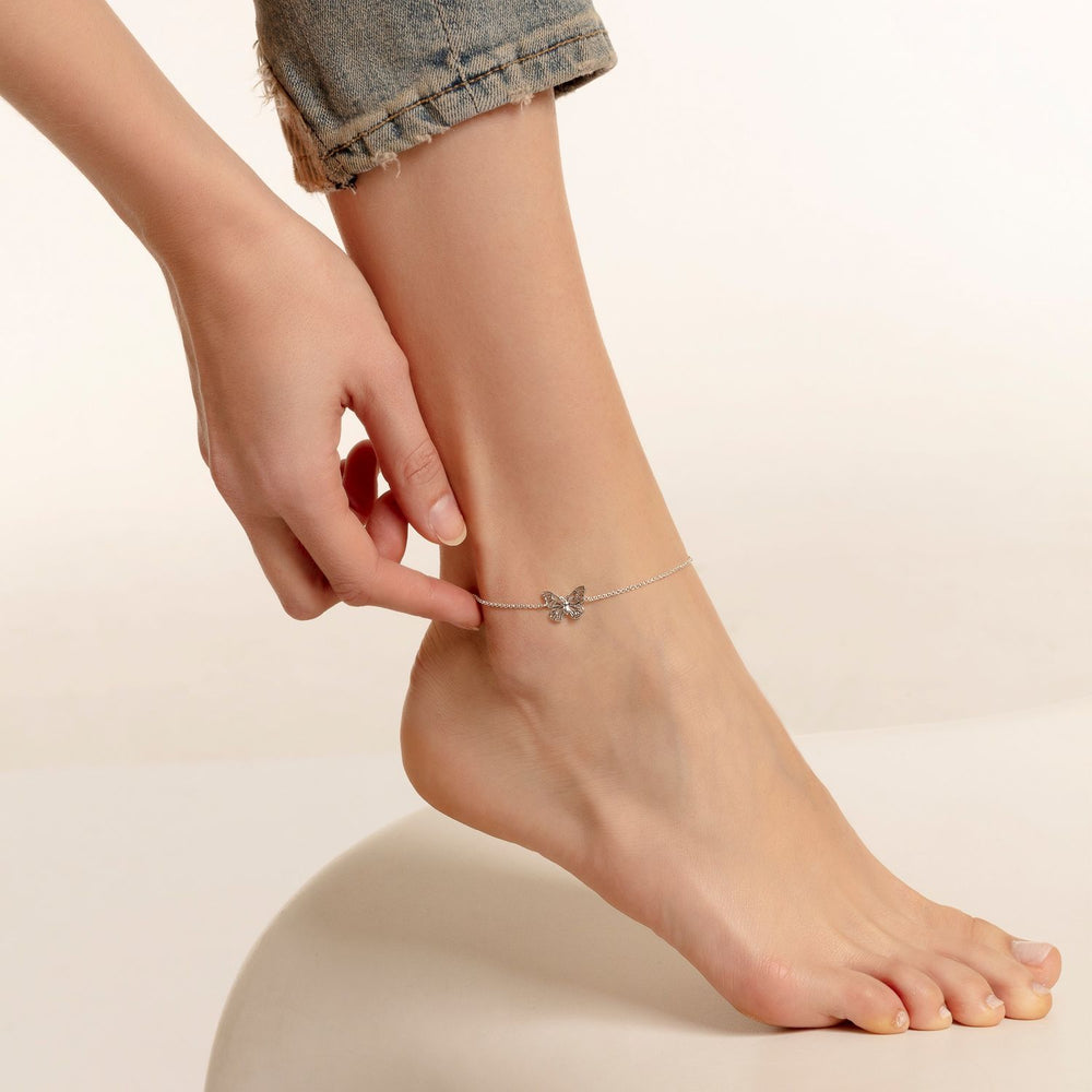 "Anklet ""Butterfly"" - THOMAS SABO Malaysia"